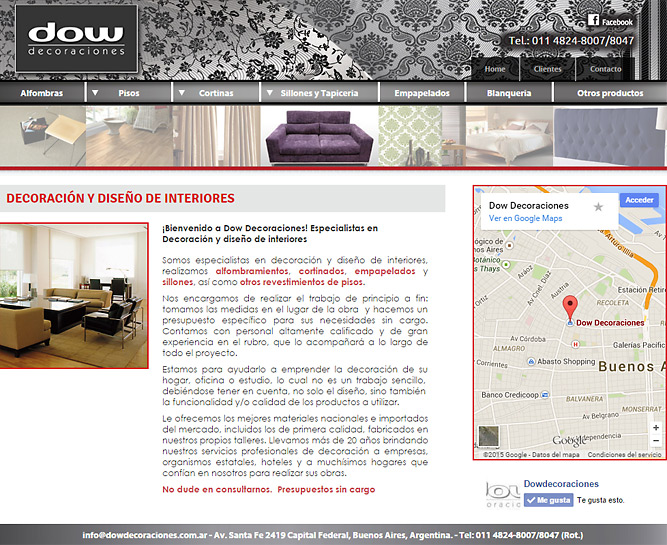 Pagina decoracion de interiores simple fabulous pagina for Paginas web decoracion