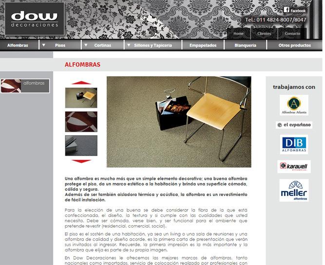 Paginas web de decoracion de interiores web ddec diseo for Paginas web decoracion