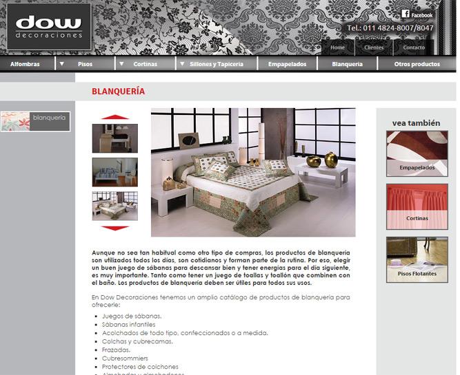 mapa del sitio with pagina decoracion de interiores